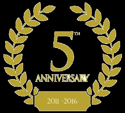 5th Anniversary Crest